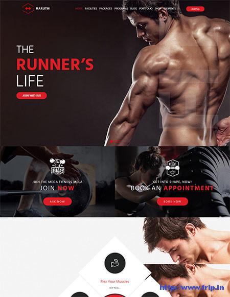 Maruthi-Fitness-Gym-Theme