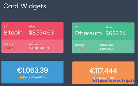 Massive-Cryptocurrency-Widget-Pack