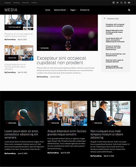 Media-blog-WordPress-Theme