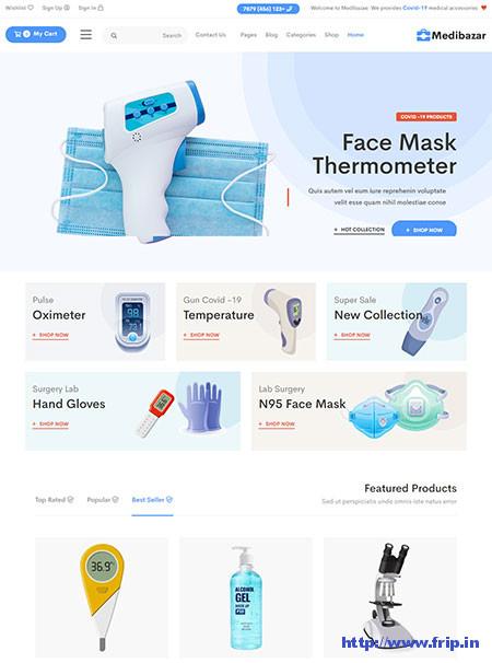 Medibazar-WooCommerce-Theme