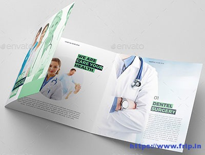 Medical-Square-Trifold-Brochure