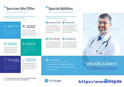 Medical-Trifold-Brochure-Template