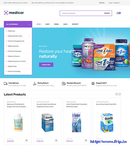 Medicor-medical-WooCommerce-theme