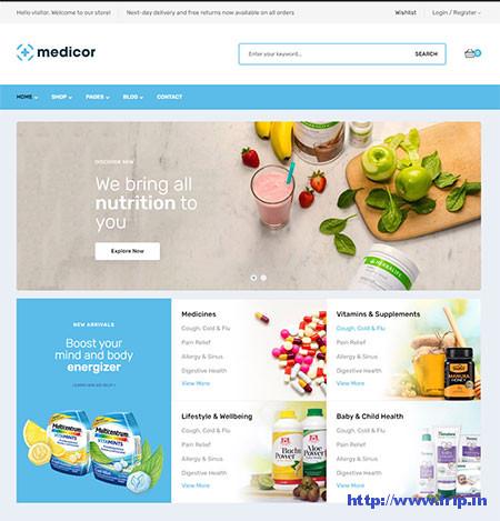 Medicor-Pharmacy-WooCommerce-Theme