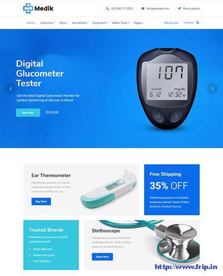 Medik-Medical-WooCommerce-Theme