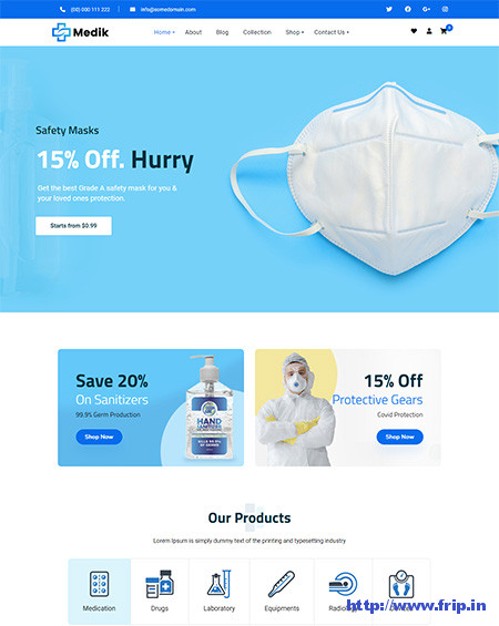 Medik-Medical-WooCommerce-Theme