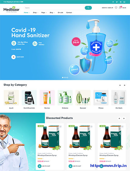 Medilazar-Medical-WordPress-Theme