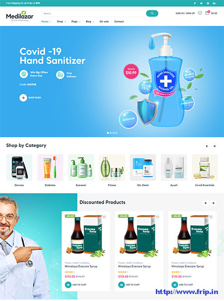 Medilazar-Pharmacy-WooCommerce-Theme