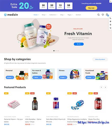 Medizin-Medical-WooCommerce-Theme