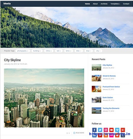 Meeta-free-Blogging-WordPress-Theme