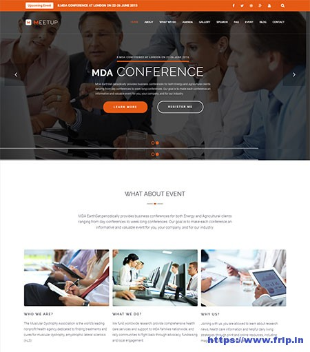 Meetup-Event-WordPress-Theme