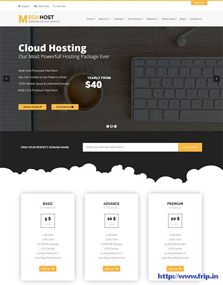 MegaHost-Hosting-WordPress-Theme
