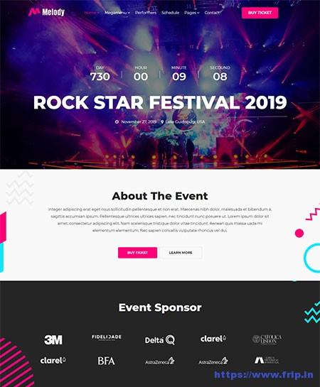 Melody-Music-Event-WordPress-Theme
