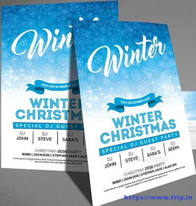 Merry-Christmas-Winter-Flyer