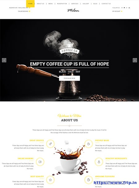 Milan-Coffee-Restaurant-WordPress-Theme