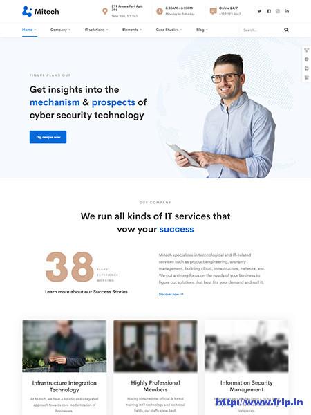 Mitech-WordPress-Theme