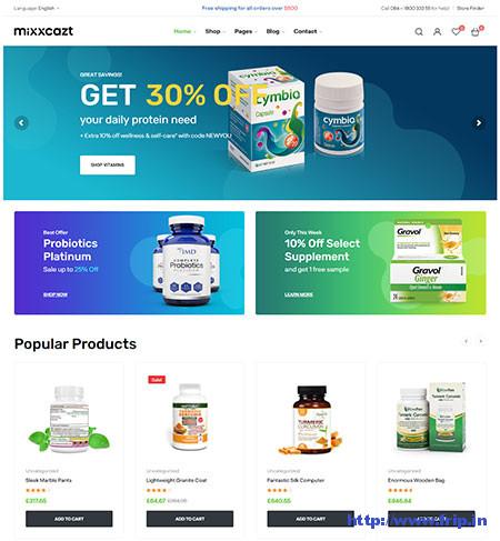 Pharmacy WooCommerce Themes