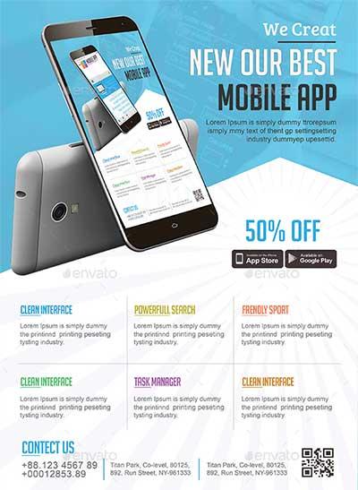 Mobile-App-Flyer