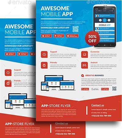 Mobile-App-Flyers-Bundle