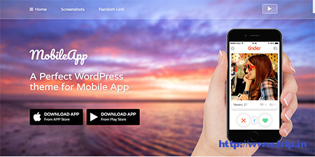 MobileApp-WordPress-Theme