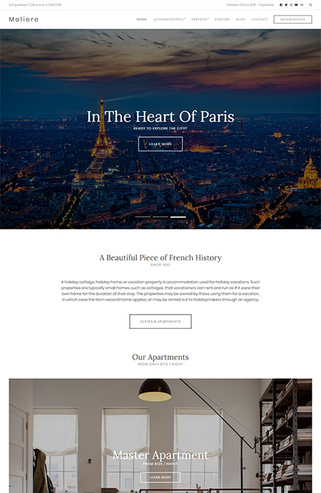 Moliere-Hotel-WordPress-Theme