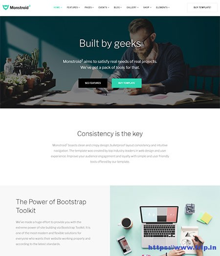 Monstroid-2-Multipurpose-Website-Template