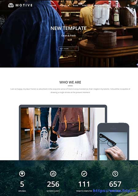 Motive-Portfolio-WordPress-Theme