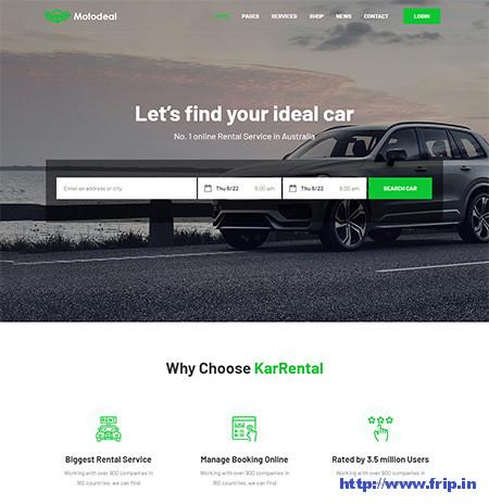 Motodeal-Classifieds-Template