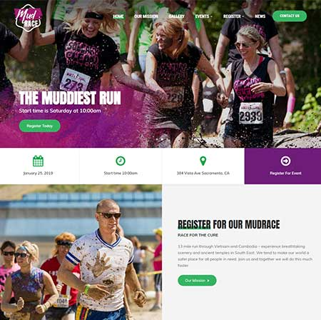 MudRace-Single-Event-Fundraiser-WordPress-Theme