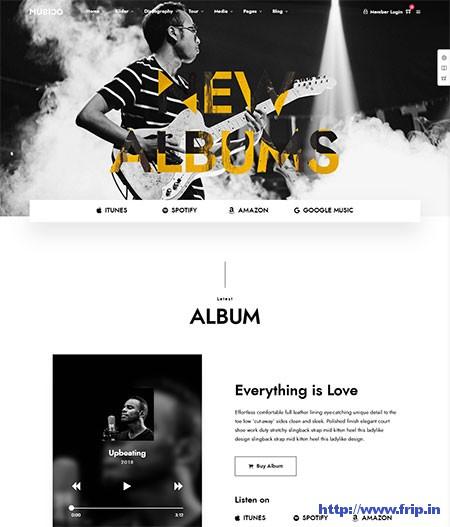 Musico-Music-WordPress-Theme