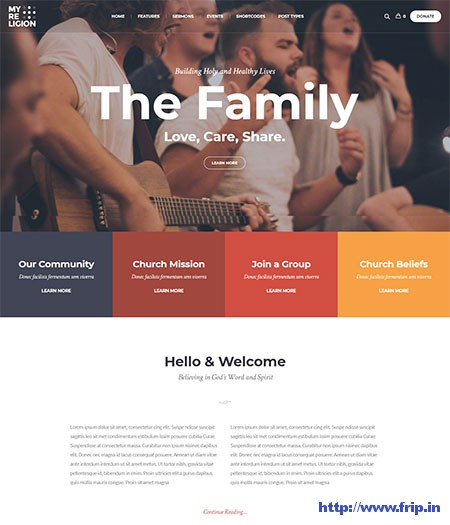 My-Religion-Church-WordPress-Theme