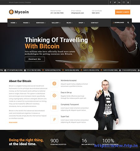 Mycoin-Bitcoin-Cryptocurrency-Template