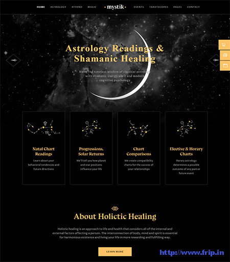 horoscope and astrology wordpress themes