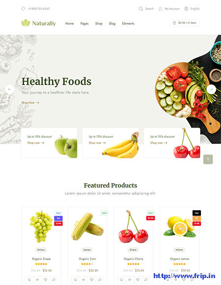 Naturally-Organic-Food-WordPress-Theme