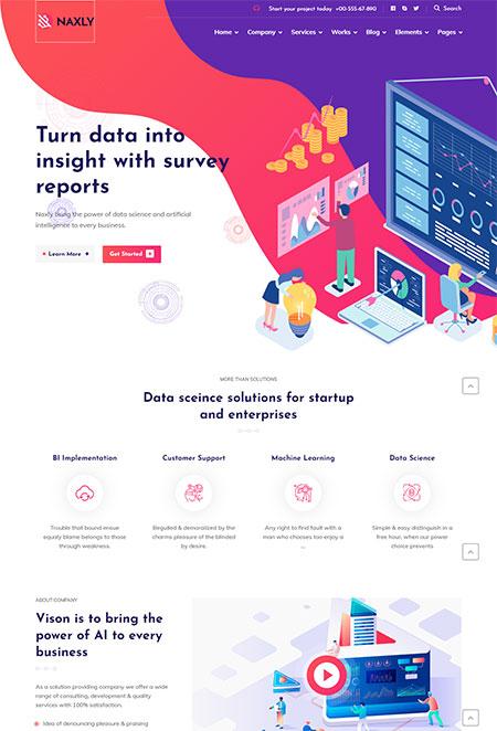 Naxly-Data-Science-&-Analytics-Theme