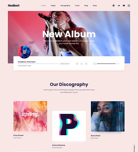 NeoBeat-Music-WordPress-Theme