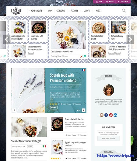 Neptune-Food-Recipe-WordPress-Theme