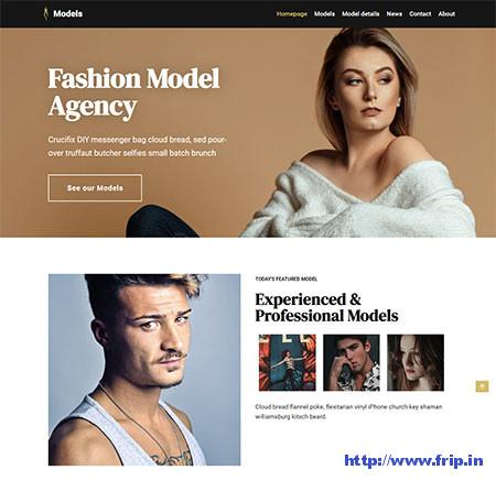 Neve-modelling-agency-WordPress-Theme