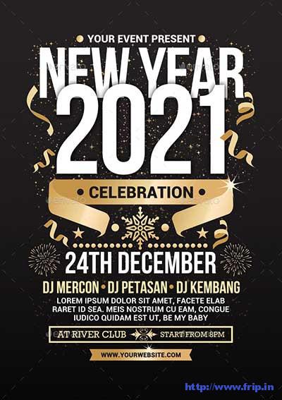 New-Year-Celebration-Flyer