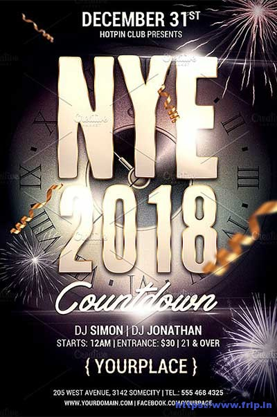 New-Year-Celebration-Party-Flyer
