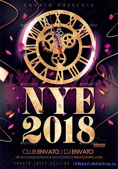 New-Years-2018-Flyer-Template