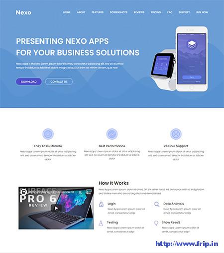 Nexo-Multipurpose-Landing-Page-Theme