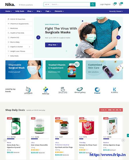 Nika-Medical-WordPress-Theme