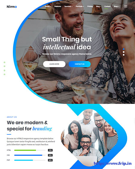 Nimmo-One-Page-WordPress-Theme