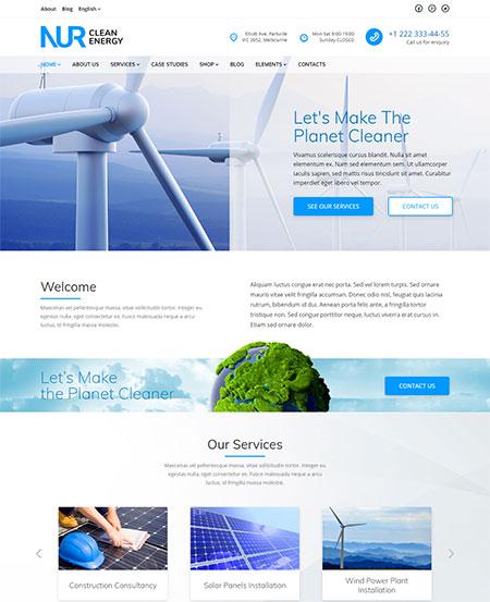 Nur-Renewable-Energy-WordPress-Theme