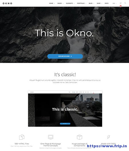 Okno-Multipurpose-Website-Template