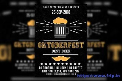 Oktober-Fest-Flyer