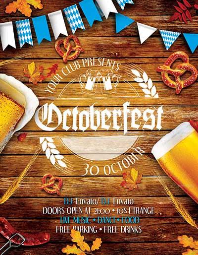 Oktoberfest-Festival-Party-Flyers