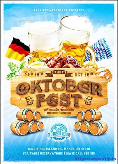 Oktoberfest-Festival-Poster