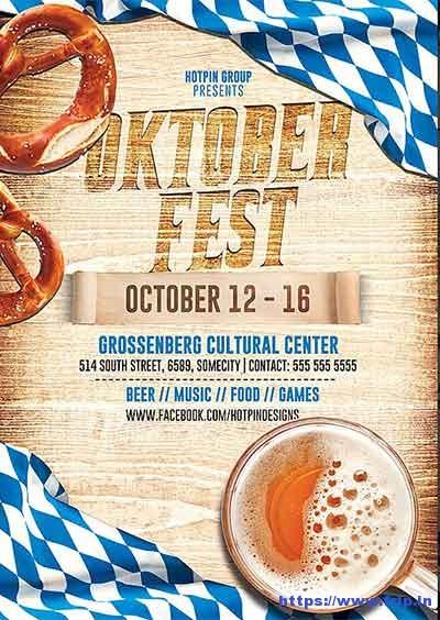 Oktoberfest-Flyer-Template